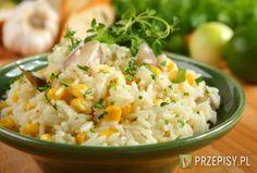 Ryż z kukurydzą - przepis z portalu przepisy.pl