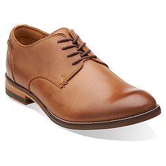 Mens Clarks Exton Cap Oxfords Shoes Navy Suede SND61906