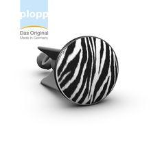 plopp Waschbeckenstöpsel Zebra Waschbeckenstöpsel mit #Animal Print #bad #Geschenkidee #Badezimmer #bathroom www.plopp.co