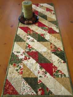 Table Runner And Placemats Quilted Table Runners Quilted Table Runner Patterns Easy Quilts Small Quilts Quilted Table Toppers Christmas Runner Christmas Cactus Christmas Quilting Quilted Table Runners Christmas, Patchwork Table Runner, Christmas Patchwork, Christmas Quilt Patterns, Christmas Runner, Table Runner And Placemats, Christmas Sewing, Christmas Diy, Christmas Quilting Projects