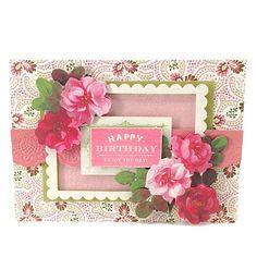 Anna Griffin® Birthday Clear Stamp Set