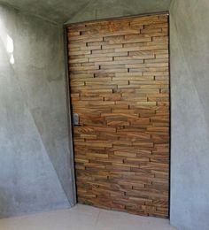 Nice door - house in Paraguay