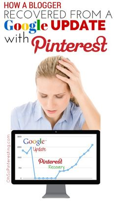 How a Blogger Recovered Her Traffic From a Google Update with Pinterest #OhSoPinteresting http://www.ohsopinteresting.com/how-a-blogger-recovered-traffic-from-google-update-with-pinterest/