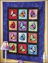 Beautiful Butterflies Wall Hanging