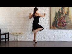 Аргентинское танго. Отработка женских техник. AURATANGO - YouTube