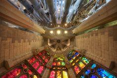 Sagrada Familia by Nicolas Randall    I love these church. It's shocking and amazing.