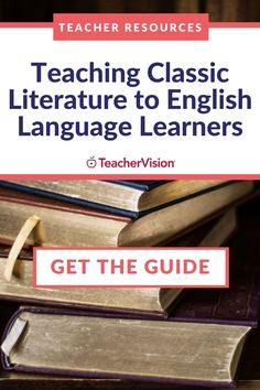 "This resource provides 5 strategies for tailoring ""the classics"" for your ELL students. Focused around fostering comprehension and accessibility, the strategies can be adapted to various learning styles and are appropriate for remote learning. Primarily developed to aid reading or English Language Arts teachers, it can also be used for cross-curricular reading instruction in Social Studies, Humanities, and Science classes. #ellstudents #englishlanguagelearning #teacherresources Reading Resources, Reading Skills, Teacher Resources, Teaching Strategies, Teaching Tools, Ell Students, Cross Curricular, English Language Learners, Learning Styles"