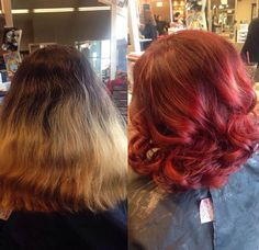 Box Ombre Fail To Fresh, Modern Red