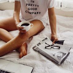 Im pretty Good company.after a coffee. Easy Like Sunday Morning, Morning View, Chill Pill, Stay In Bed, Just Relax, Lazy Days, Infp, Coffee Break, Coffee Mornings