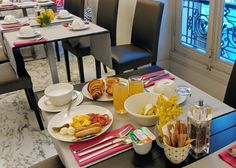 Hotel La Malmaison Nice, France La Malmaison, Hotel Breakfast, Nice France, 5 Star Hotels, Table Settings, Nice, Place Settings, Tablescapes