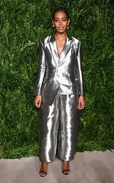 13thAnnual CFDA Vogue Fashion Fund Awards This suit y'all is the maxi-fab