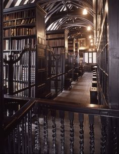 Chetham's Library was founded in 1653 and is the oldest public library in the English-speaking world. It holds more than 100,000 volumes of printed books, of which 60,000 were published before 1851.