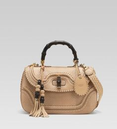 Womens Handbags & Bags : Gucci Bamboo Handbags Collection & More Luxury Details