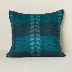 Printed Quilt Sham Teal - Opalhouse™ Designed With Jungalow™ : Target Create A Signature, Cotton Textile, Bohemian Look, Living Room Pillows, Buy Prints, Pillow Shams, Pillow Inserts, Fabric Weights, Decorative Pillows