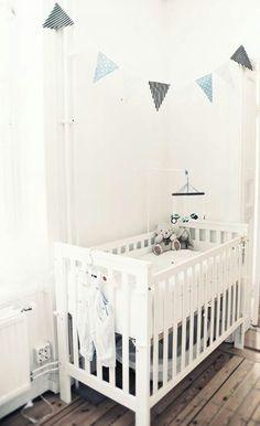 Decoración en blanco para la habitación de tu bebé