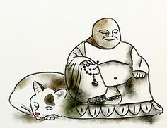 The Buddha and the Cat