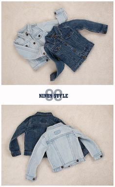 MSD-size.  Washing Denim Jacket.  Desired Color:  Deep Blue.  $53.00. [***]