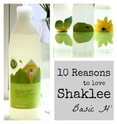 Top 10 Reasons to LOVE Shaklee Basic H It's the only thing I use to clean with. Love it!!
