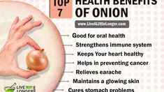 The health benefits of onions contribute in treating stomach problems, earache, oral problems, and keeping the skin clear. The nutrients in onions are major reason why they benefit the health so much. Healthy Foods, Healthy Life, Healthy Recipes, Detox Eating Plan, Onion Benefits Health, Best Superfoods, Stomach Problems, Keeping Healthy, Healthier You