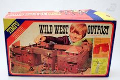 TIMPO WILD WEST OUTPOST Western Fort - cyan74.com vintage & pop culture
