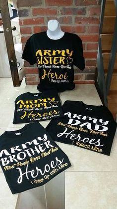 49de0369 20 Best Army Family Shirts images in 2019 | Family shirts, Army ...