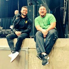 Finn Balor and Samoa Joe Love Fergal's smile on this!!
