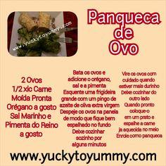 Delicia! Use sua imaginacao para o recheio! Vegetarianos Gluten Free  Yucky to Yummy