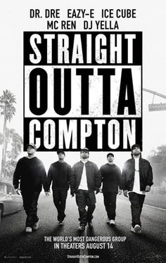 """STRAIGHT OUTTA COMPTON - Overall, """"Straight Outta Compton"""" is a well directed and powerful musical biopic with some great performances and a presentation that will make the fans go wild. It runs a bit too long, but that's more from having to cover so much ground with the various members of the group than overstaying its welcome."""