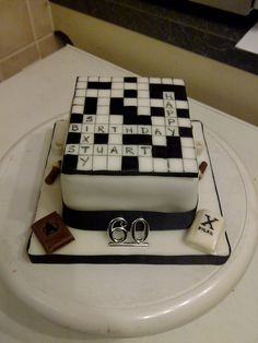 60th Birthday Cake Ideas for Men | Happy 60th Birthday | Flickr - Photo Sharing  !this is the one!To travel in box to london