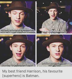 I Just Love Tom and Haz #FriendshipGoals