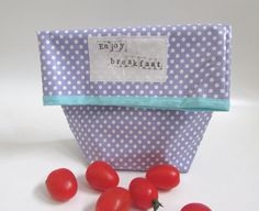 Ecofriendly Lunch Bag Food Storage Bag with by shiraproducts