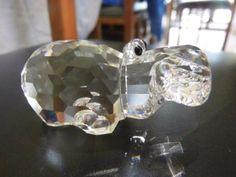 Genuine-RARE-da-collezione-Swarovski-Crystal-Hippo
