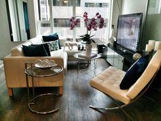Modern San Fransisco California Living Room California Living, San Fransisco, Barcelona Chair, Lounge, Living Room, Modern, Life, Furniture, Home Decor