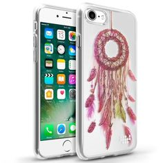 iPhone 7 Case, by Insten TPU Water Color IMD Case Cover for Apple iPhone 7 - Dream Catcher