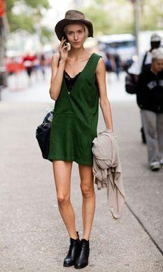 Look Vestido Verde