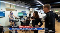 Apple Watch : le laboratoire secret d'Apple dédié aux fonctionnalités santé et fitness (vidéo)