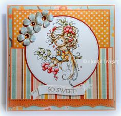 Wee Stamps by Sylvia Zet - Rowan Fairy