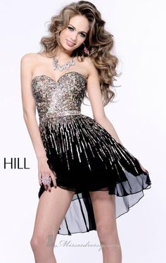 48 Sherri Hill Prom Dresses 2013... BUT LONGER... WELL... I'm short.... that can be arranged.