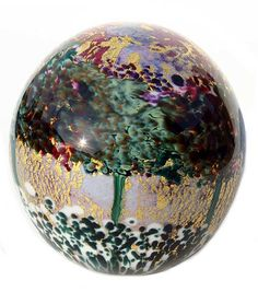 glass paperweights images   qty renoir glass paperweight code rl 5 blue renoir glass paperweight ...