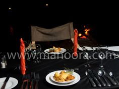 Only the finest food for our Guests - the Mahoora Dining Experience.