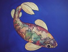 Fish Acrylic on canvas