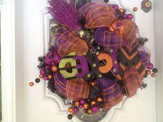 Halloween Wreath...love it!
