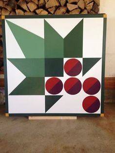Image result for Christmas barn quilts