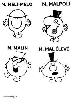 M.Melimelo M.Malpoli M.Malin M.Mal Élevé Machine Silhouette Portrait, Monsieur Madame, Free Hd Wallpapers, Home Interior, Art For Kids, Stencils, Diy And Crafts, Sentiments, Color Pictures