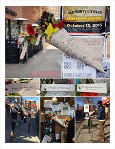 Anne Paterson's Flowers: Free Flower Posters / Flores gratis para tener un buen día #streetmarketing