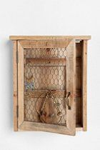 Reclaimed Wood Wall Jewelry Holder  #UrbanOutfitters