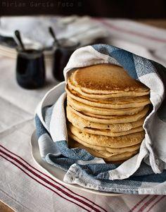 Tortitas americanas de masa madre, sourdough pancakes | El Invitado de Invierno