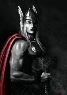 Thor igazán elszánt éjszaki Istenség volt