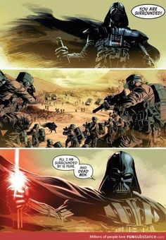 If only they made a Star Wars movie this epic
