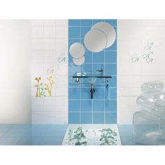 Colección A BOLHINHAS de la diseñadora  Ana Bicho para Revigres coleccion inspirada en el agua para los baños infantiles